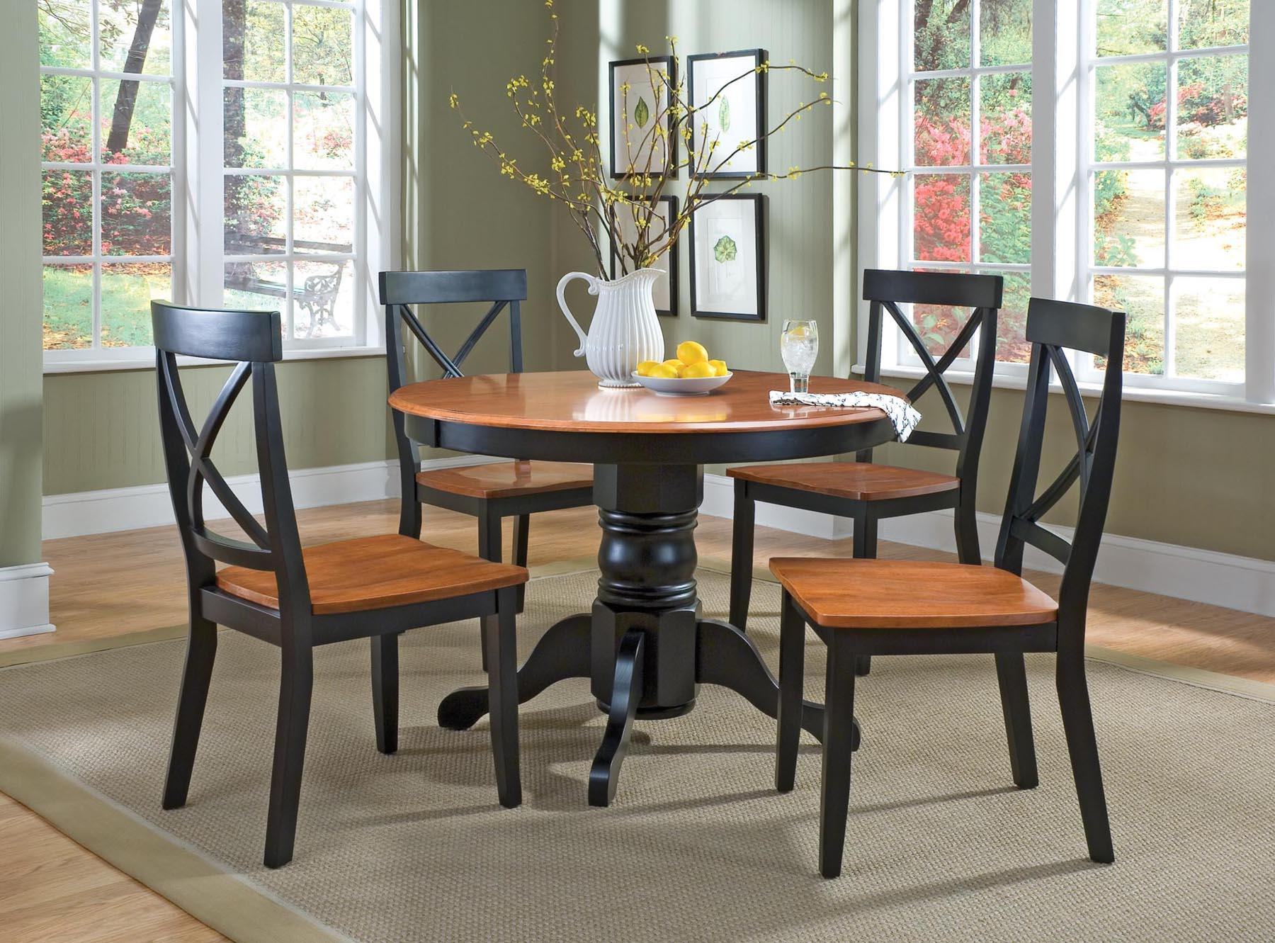 Wood Table 4 Chairs Windows Pics Rug There Are Some Designs Of Dining Room