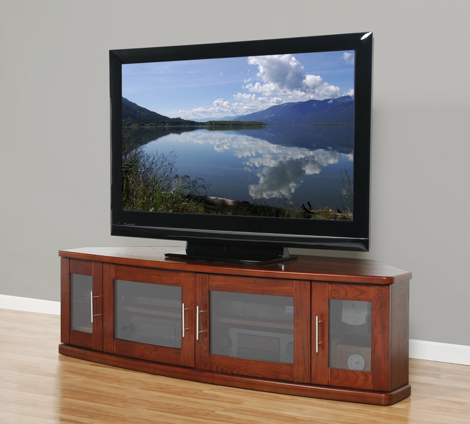 Long Media Cabinet For Your Living Room Homesfeed
