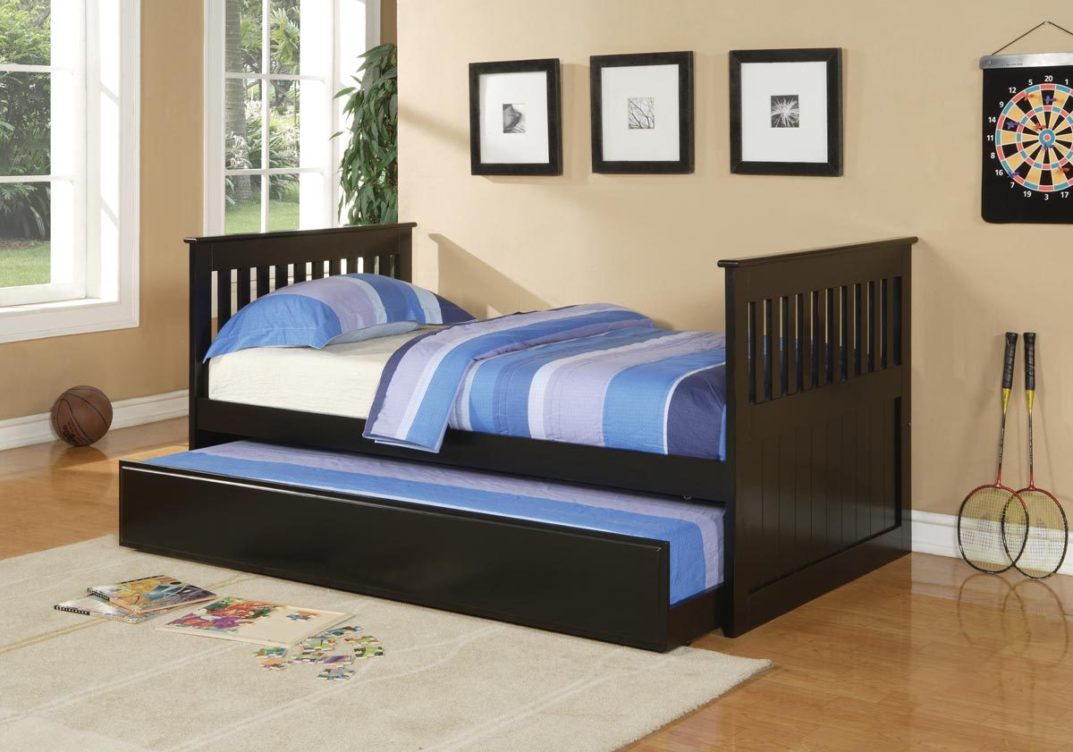 Trundle Beds for Children to Create an Accessible Bedroom Space ... for Kids Double Bed With Trundle  239wja