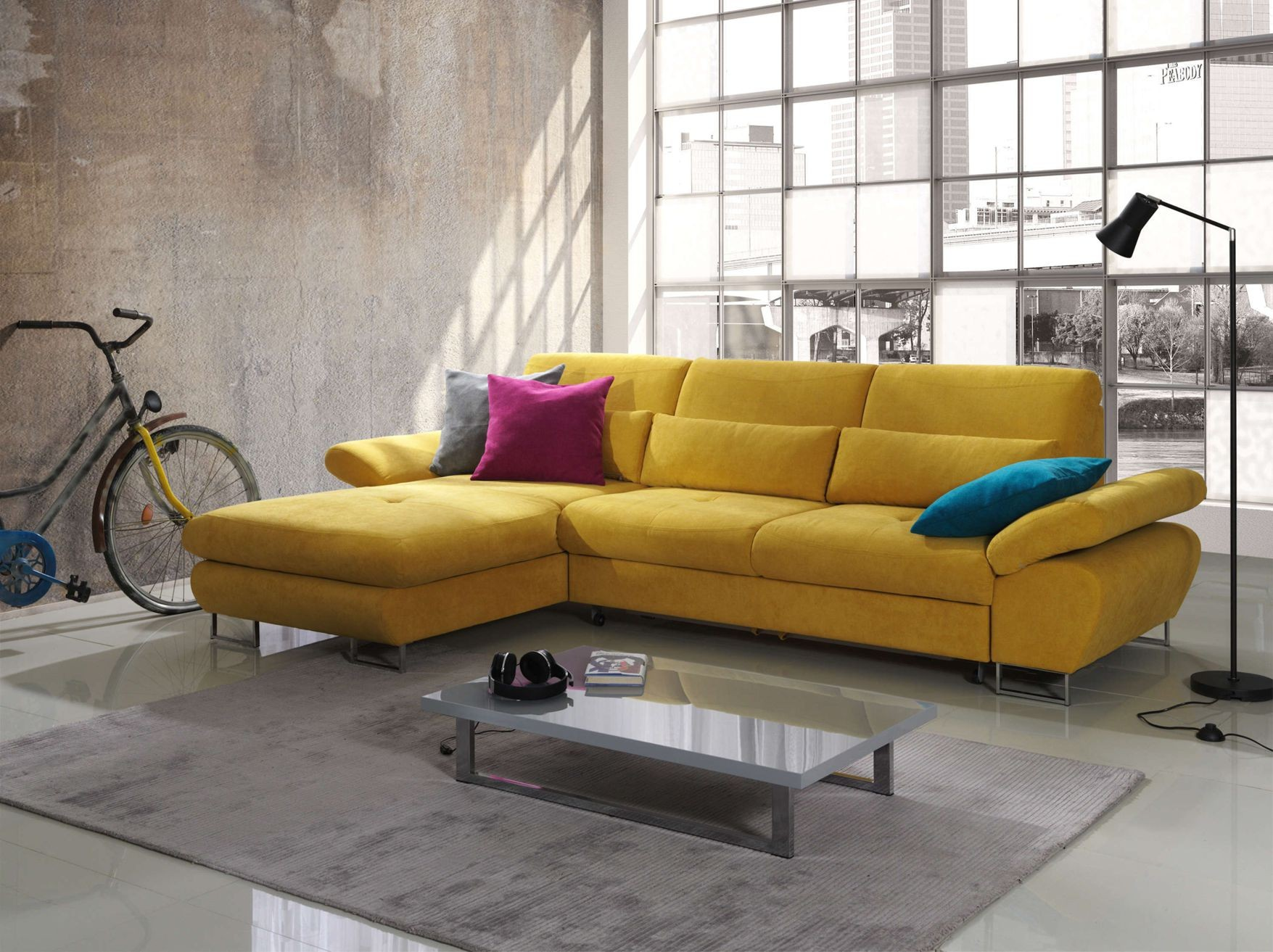 Modern Yellow Sofa u2013 TheSofa