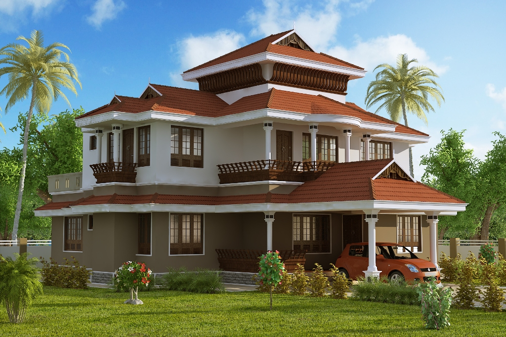 3 dimension home design created by using best house design software - Good Design House