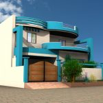 A 4 dimension home design made by using home design software