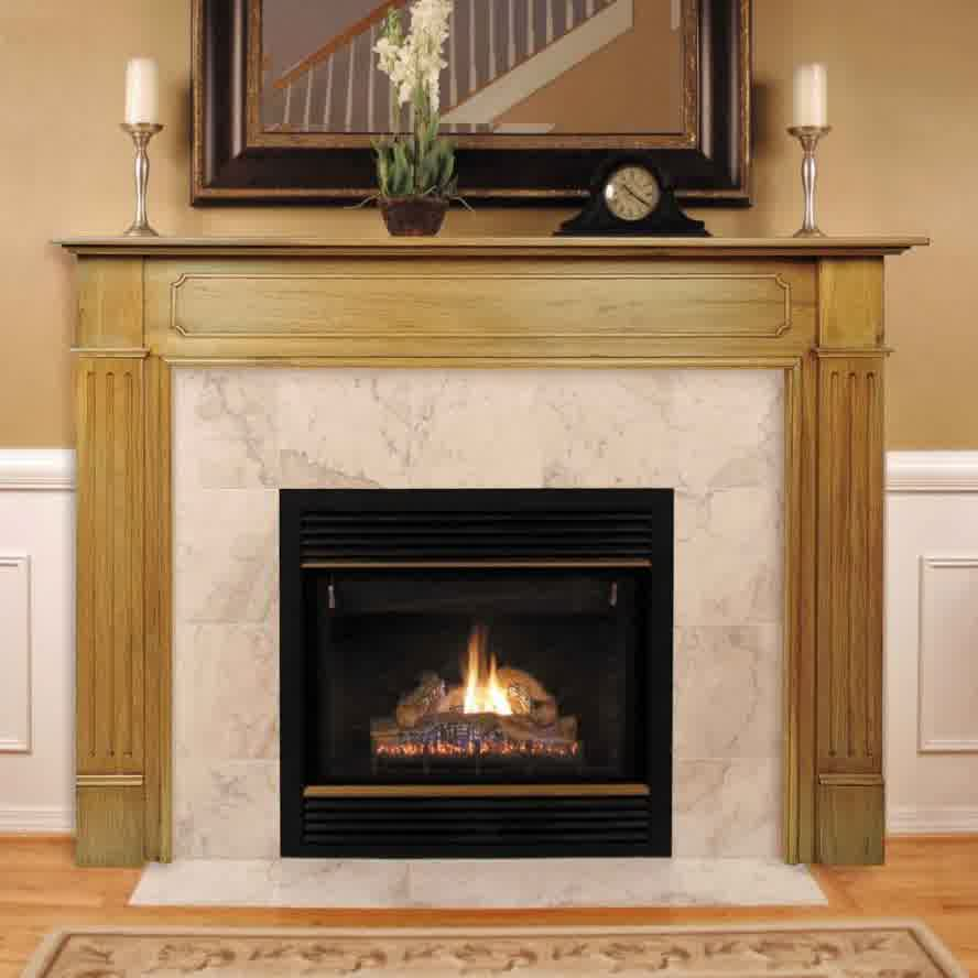 Ideal Fireplace Mantel Height