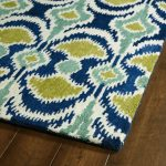 A global view area rug with beautiful pattern in multiple colors