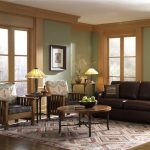 A mission living room furniture with throw pillows large rug for living room