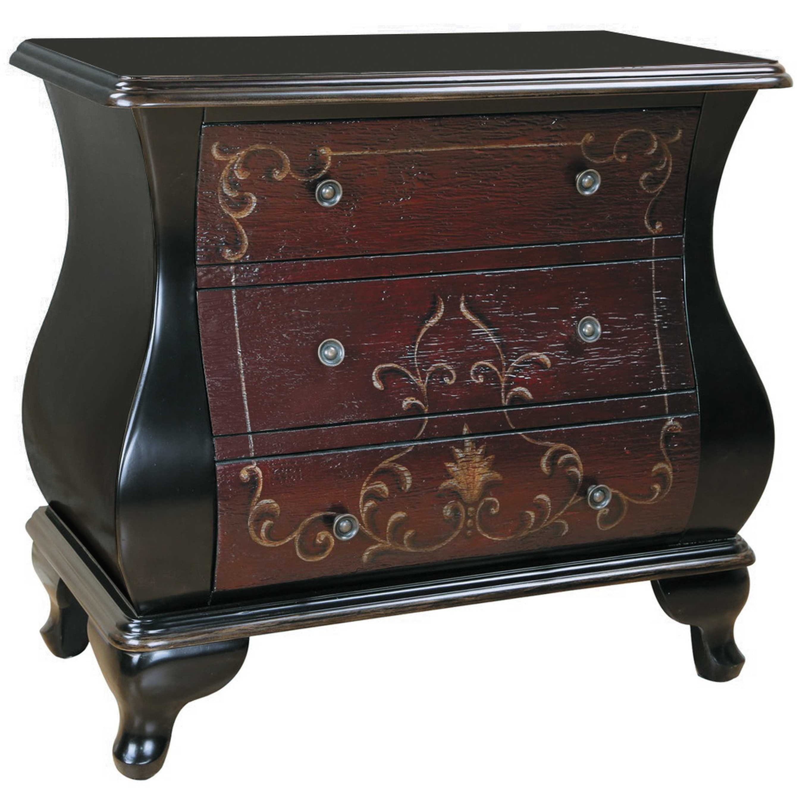 Small bombe chest homesfeed for Hand painted chests