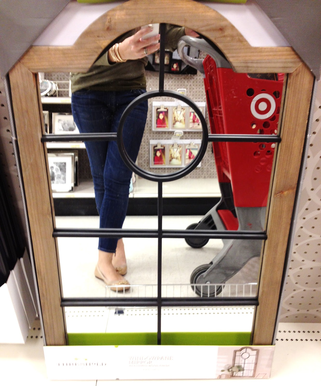 Target threshold mirror