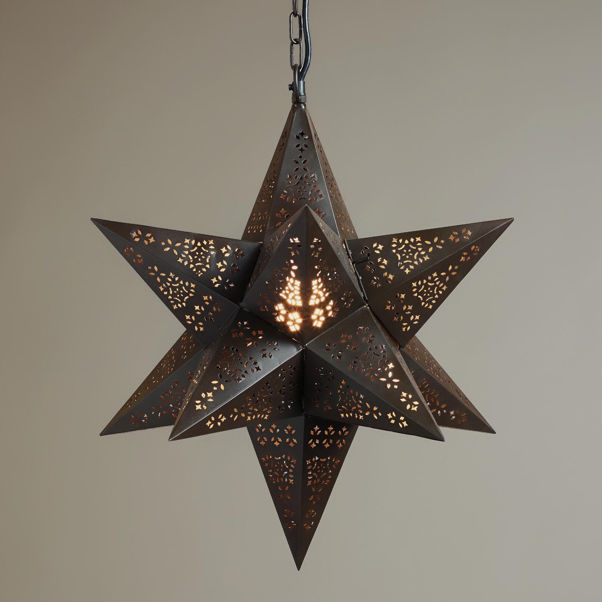 Artistic Moravian Star
