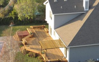 Backyard Large Deck