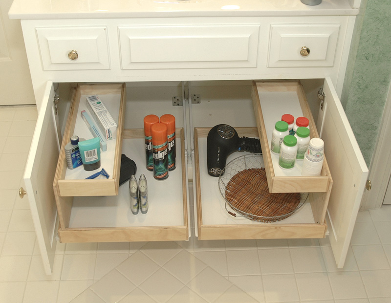 Beau Bathroom Cabinet Organizer With Racks Inside Cabinet