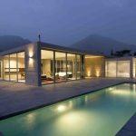 Beautiful Swimming Pool Design Ideas With Romantic Lighting