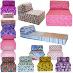 Bed Sofa Polcadot Colorful And Decorative Design