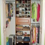 Bedroom Furniture Enticing Closet For Small Bedroom On Green Wall
