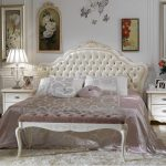 Bedroom decor in French style with French styled bedroom furniture sets
