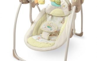 Bee White Baby Swing