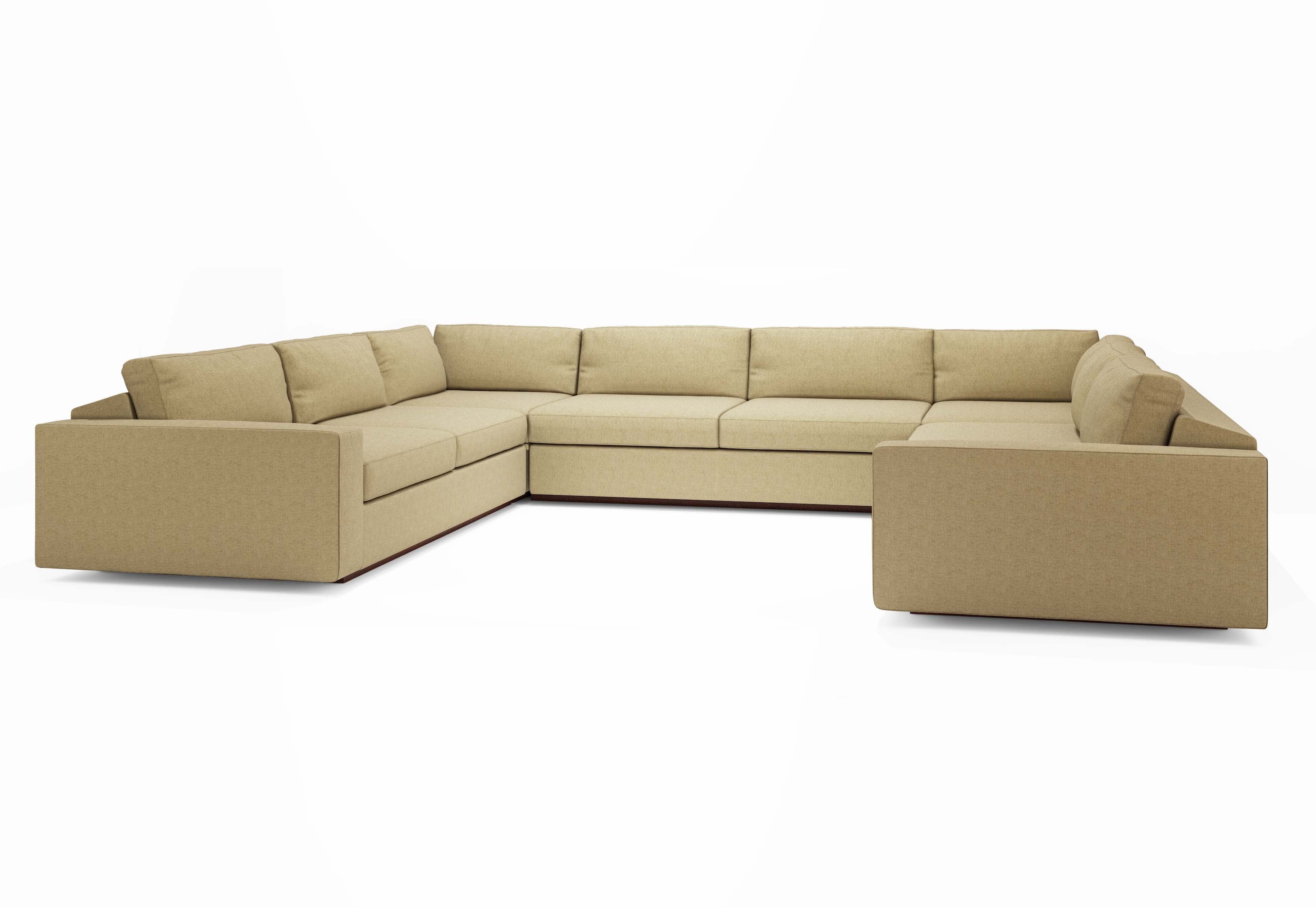 U shaped sectional with chaise design homesfeed for Chaise designer
