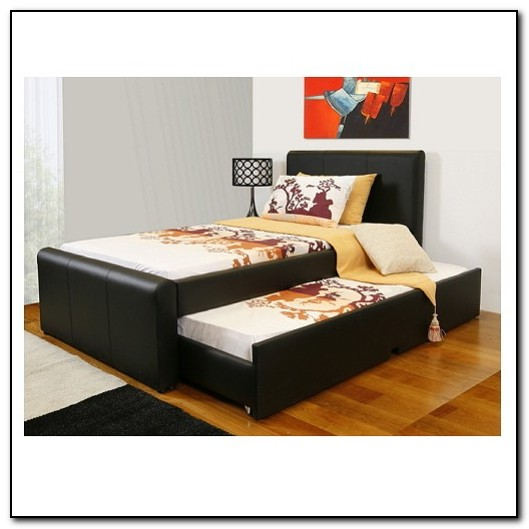 Single beds with pull out bed ikea roselawnlutheran for Pull out bed