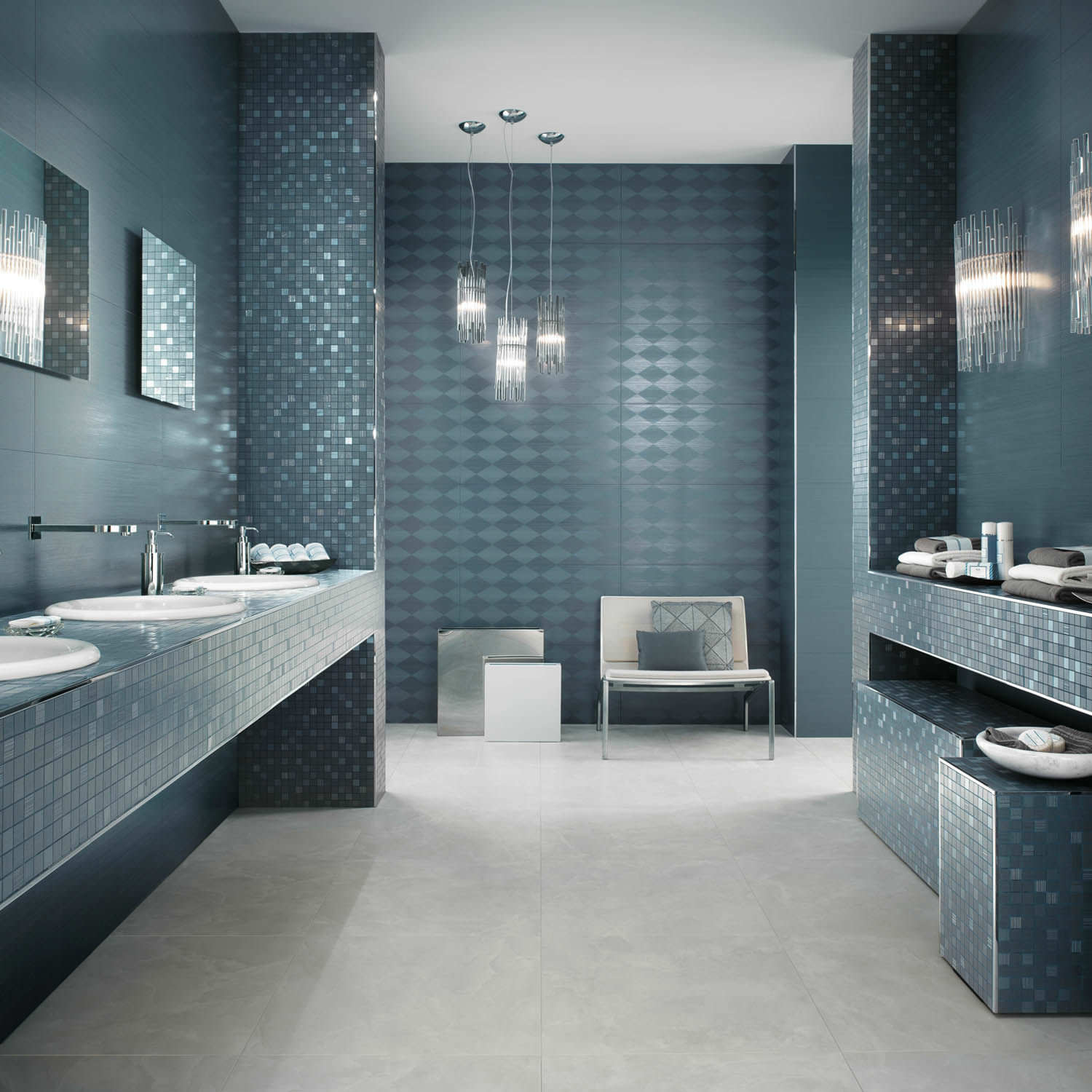 Black and white bathroom wall tiles - Best Decoration Of Bathroom Homesfeed