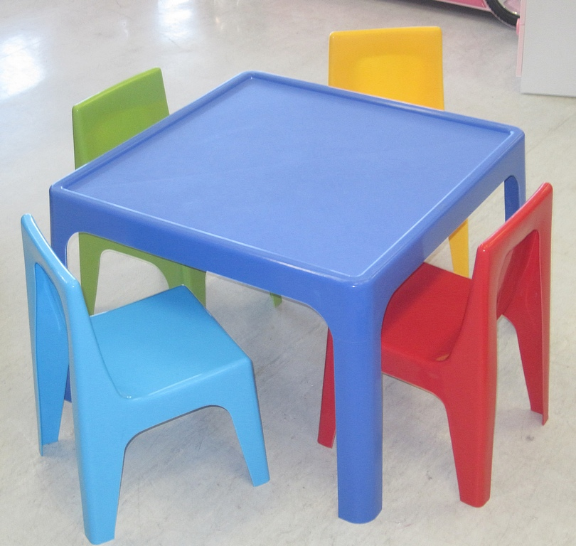Modern Kids Table and Chairs Design Options