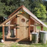 Chicken House Coop Stylish Wooden Design