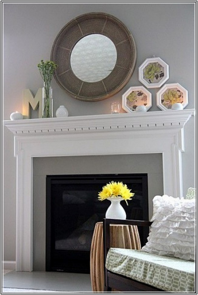 Mirrors Over Fireplace Decoration Ideas Homesfeed