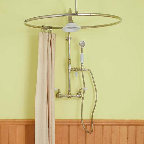 Portable Shower Curtain Rod Ceiling Shower Curtain Rod