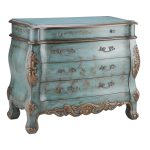 Classic Bombe Chest Treasure Turquoise Color