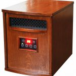 Classic Room Heater With Wood Material