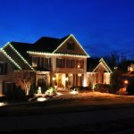 Clever Idea Of Decorating House Exterior And Outdoor With Lighting Design For Christmas