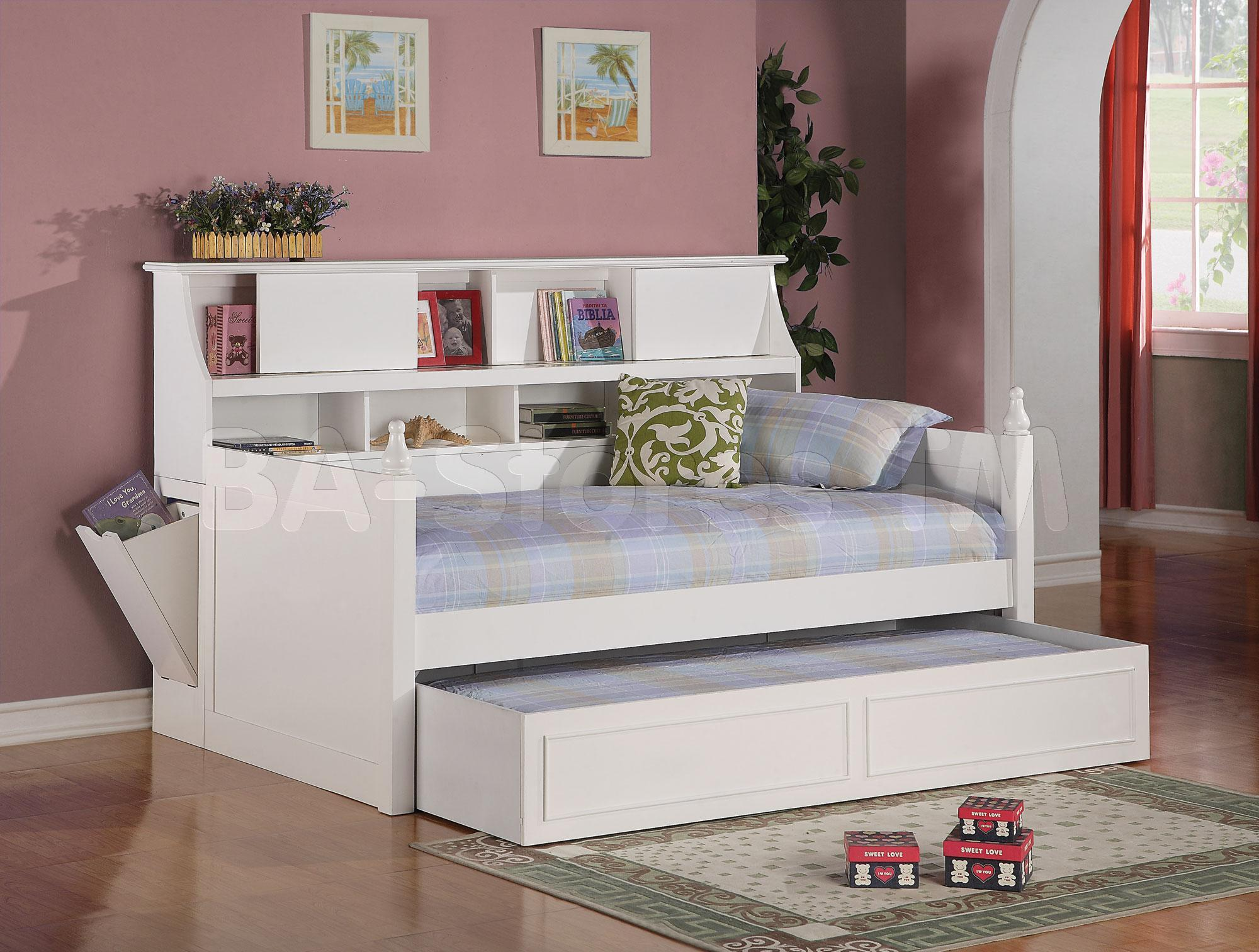 cool white twin bed frames with storage places drawers for books and toys decor by nice - Twin Bed Frame With Storage