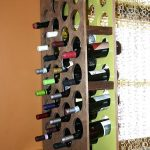 Cool wine bottles holders made from wooden
