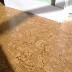 Cork flooring idea