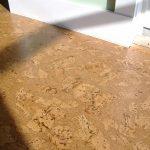 Cork flooring idea