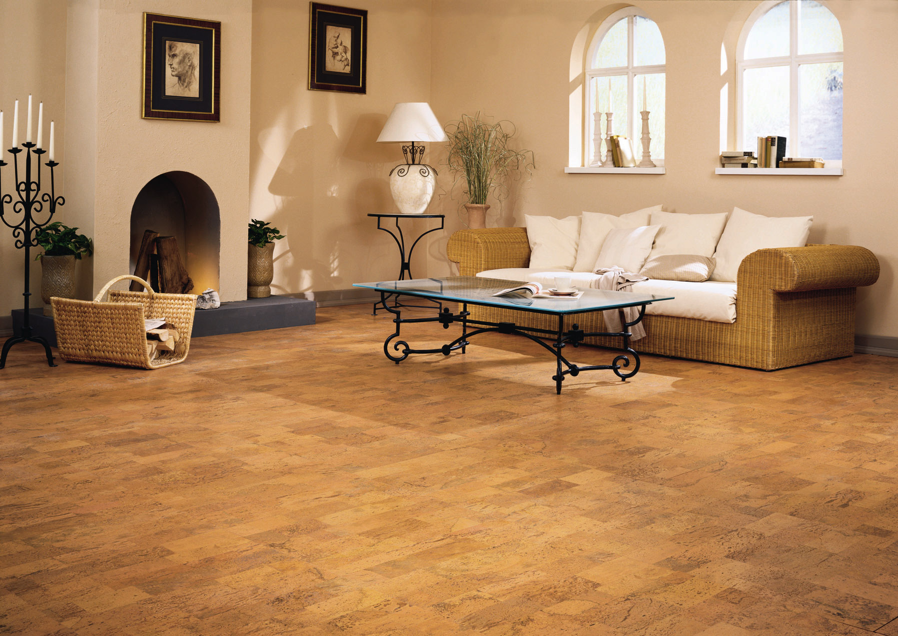 Cork flooring pros and cons homesfeed for Cork flooring reviews