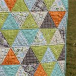 Cozy quilt for baby boy