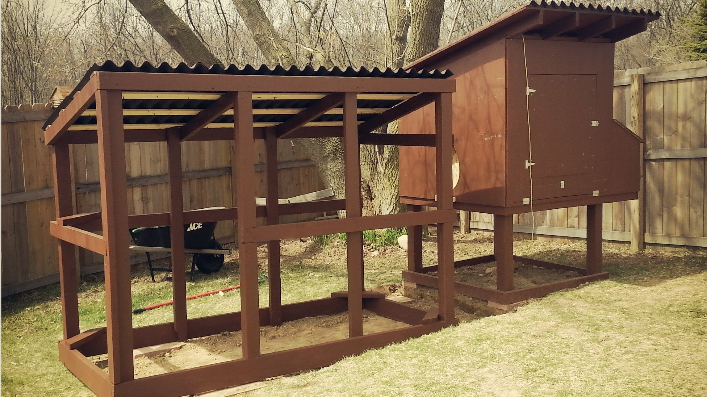 Making a chicken coop homesfeed for How to build a chicken hutch