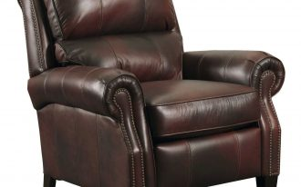 Dark Brown And Big Recliner