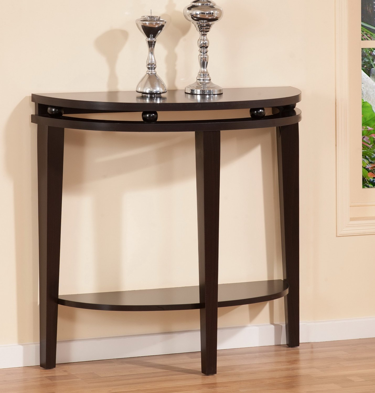 Half Moon Table half moon entry table | homesfeed