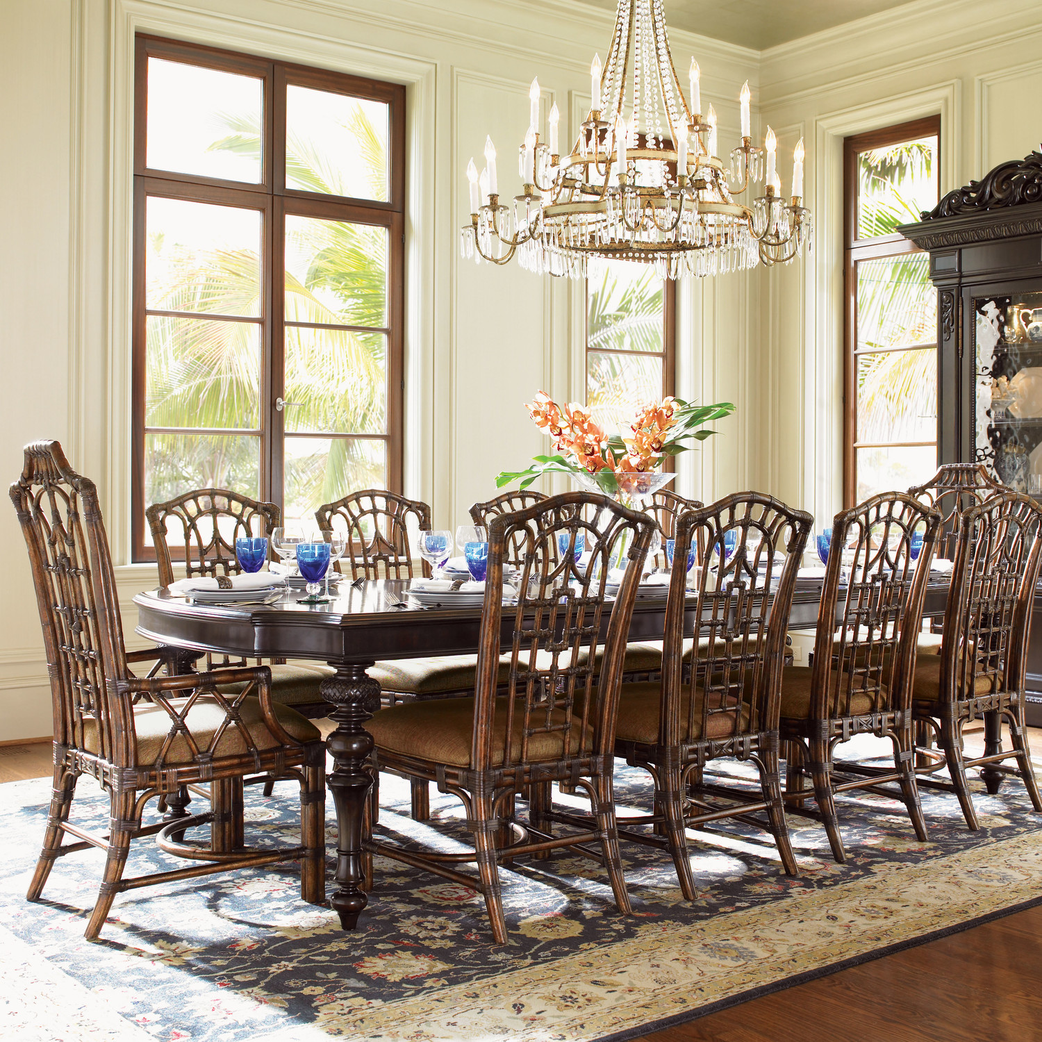 Rooms To Go Dining Sets: 11 Piece Dining Room Set