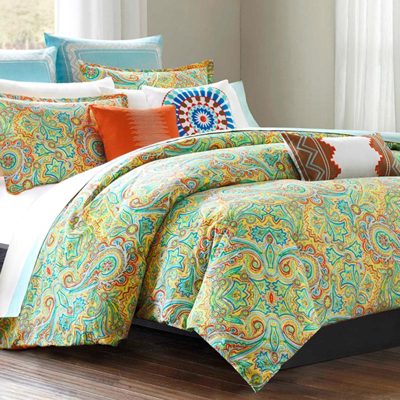 Echo beacon paisley bedding design
