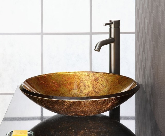 Small Vessel Bathroom Sinks : small vessel sinks are the only few of vessel sink series provided to ...