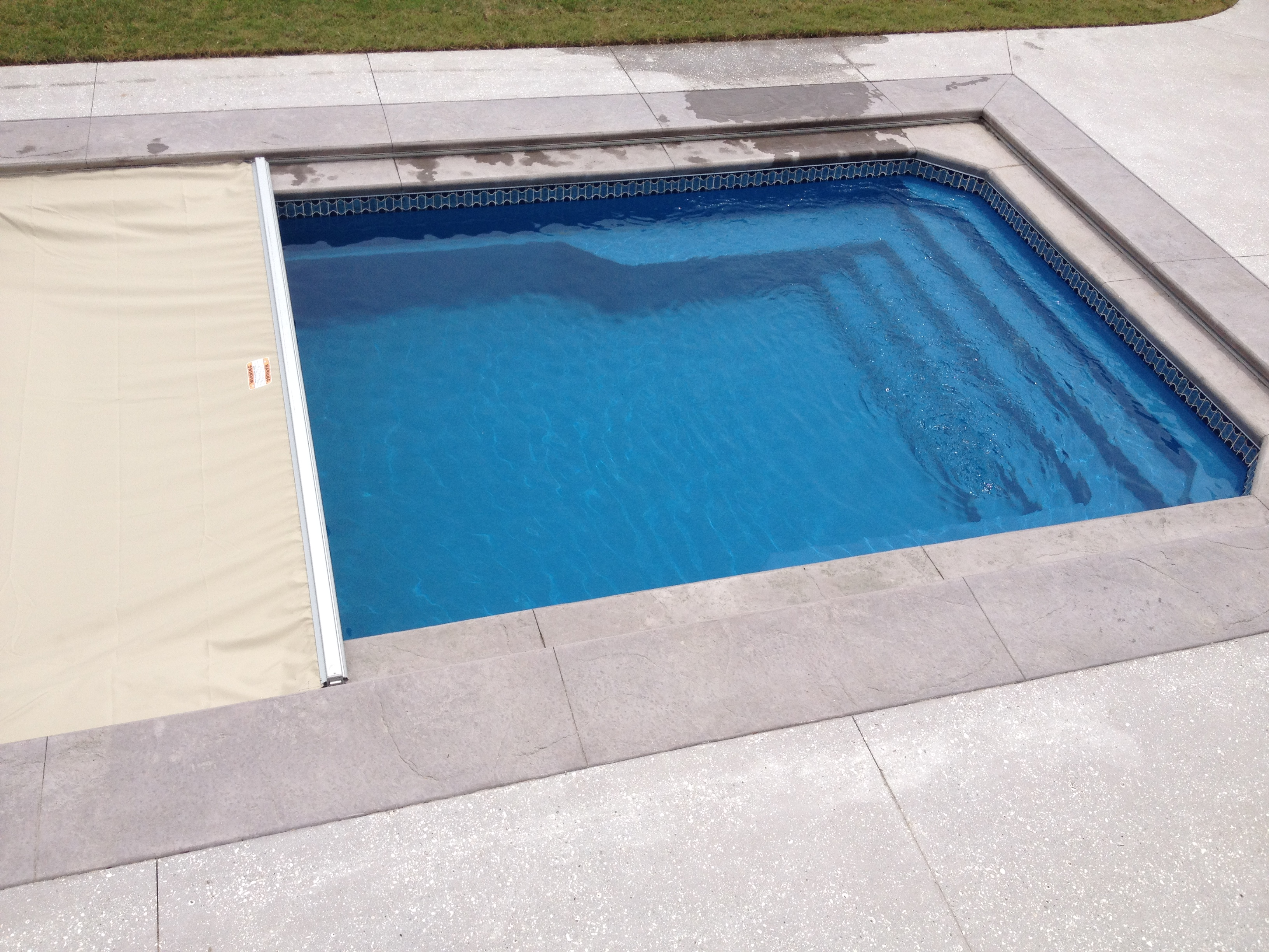 Simple Inground Pool Designs clean lines seemless coping and deck minimalist swimming pool modern pool z freedman landscape design Fiberglass Of Pool With Cover