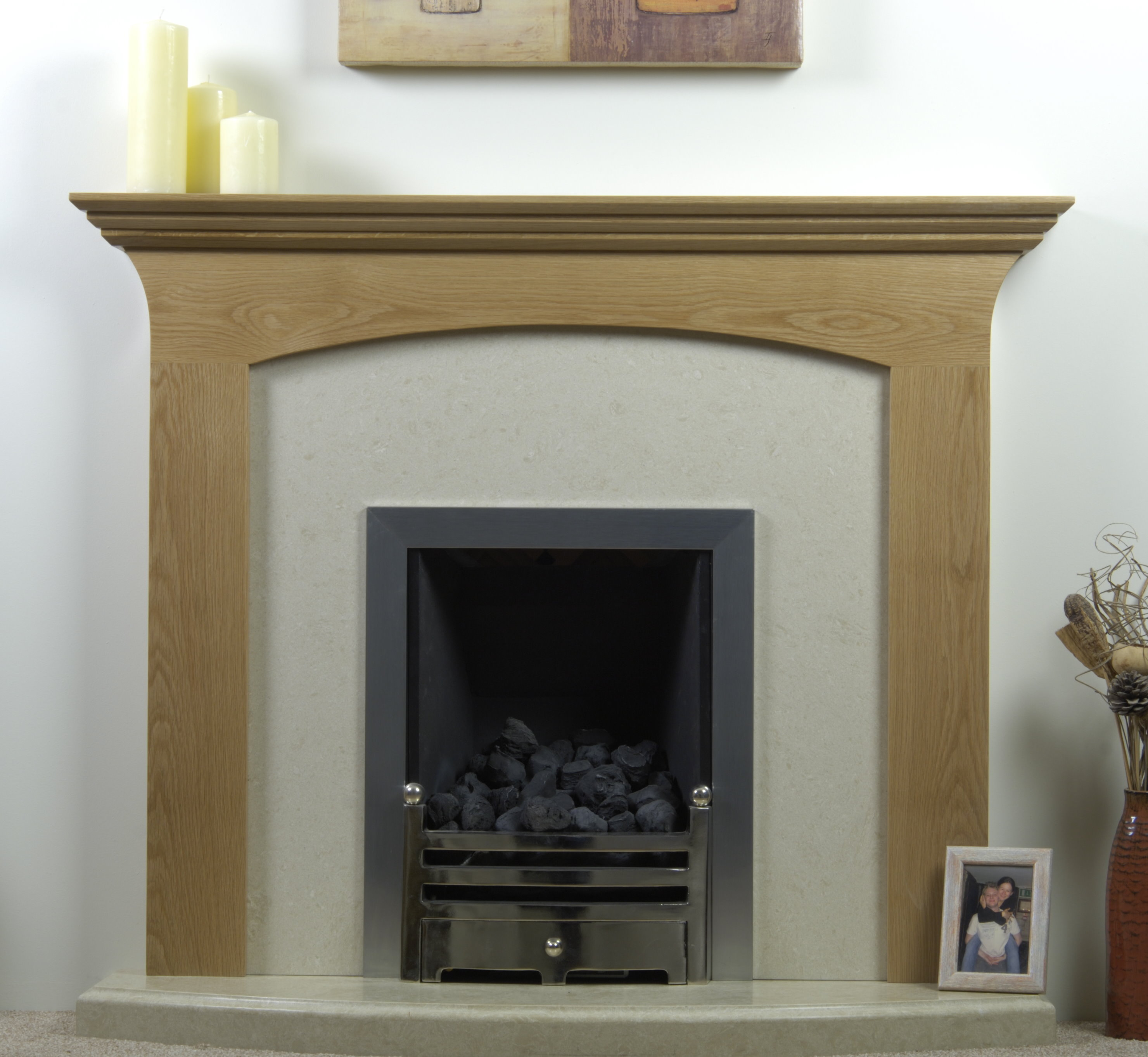 Decorate Office Fireplace Surround Kits Ideas Homesfeed