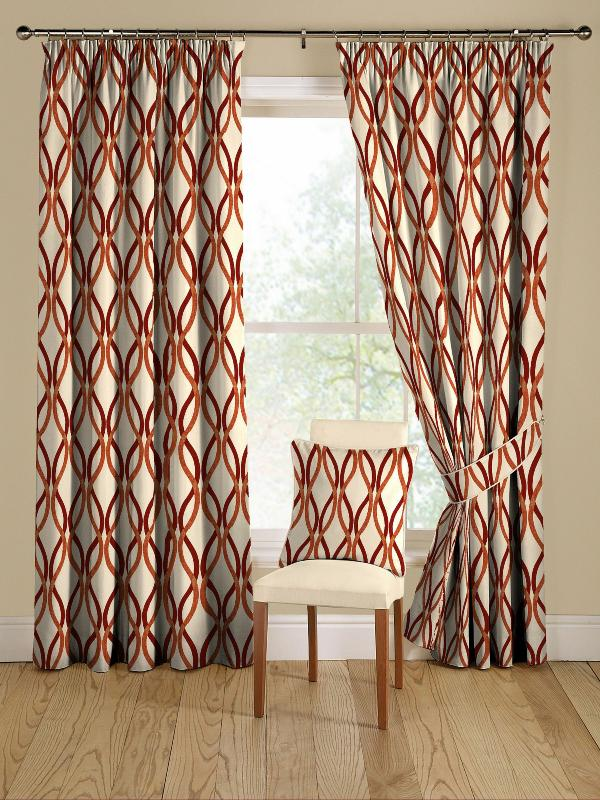 Mid century modern curtains homesfeed for Modern drapes and curtains