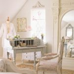 French styled home office idea with luxurious French inspired chair a French styled working desk