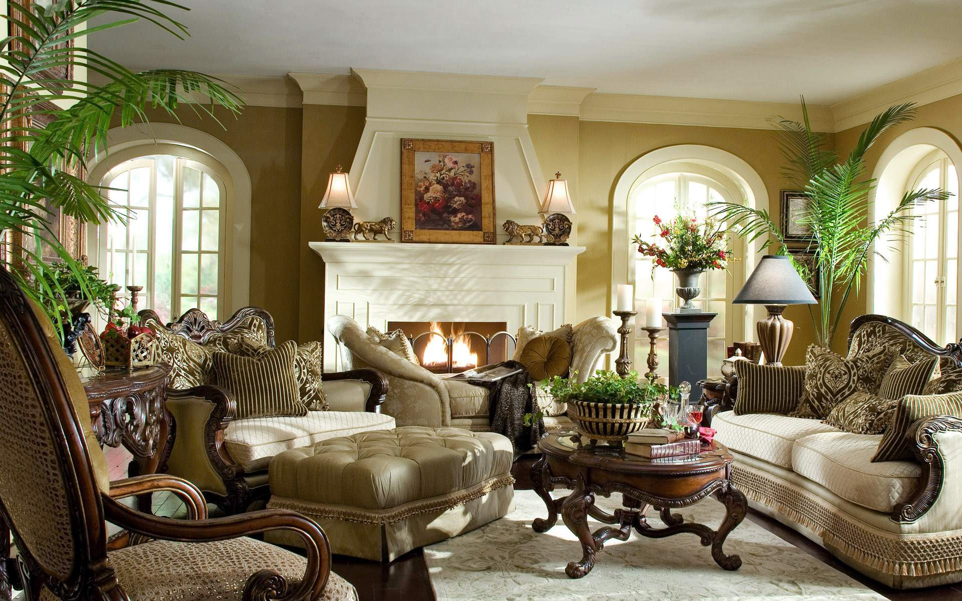 Living Room Furniture: Victorian Living Room Ideas
