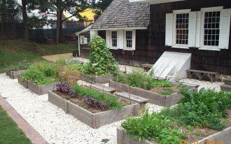 Good Idea Of Garden For Home With Box Pot