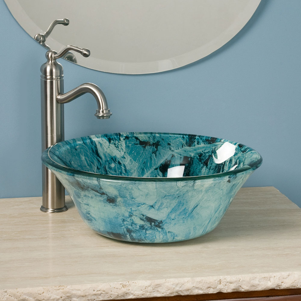Small vessel sinks for bathrooms homesfeed for Bathroom designs vessel sinks