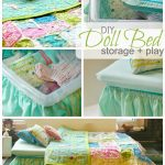 Green And Blue White Design Of Bedding For Kids