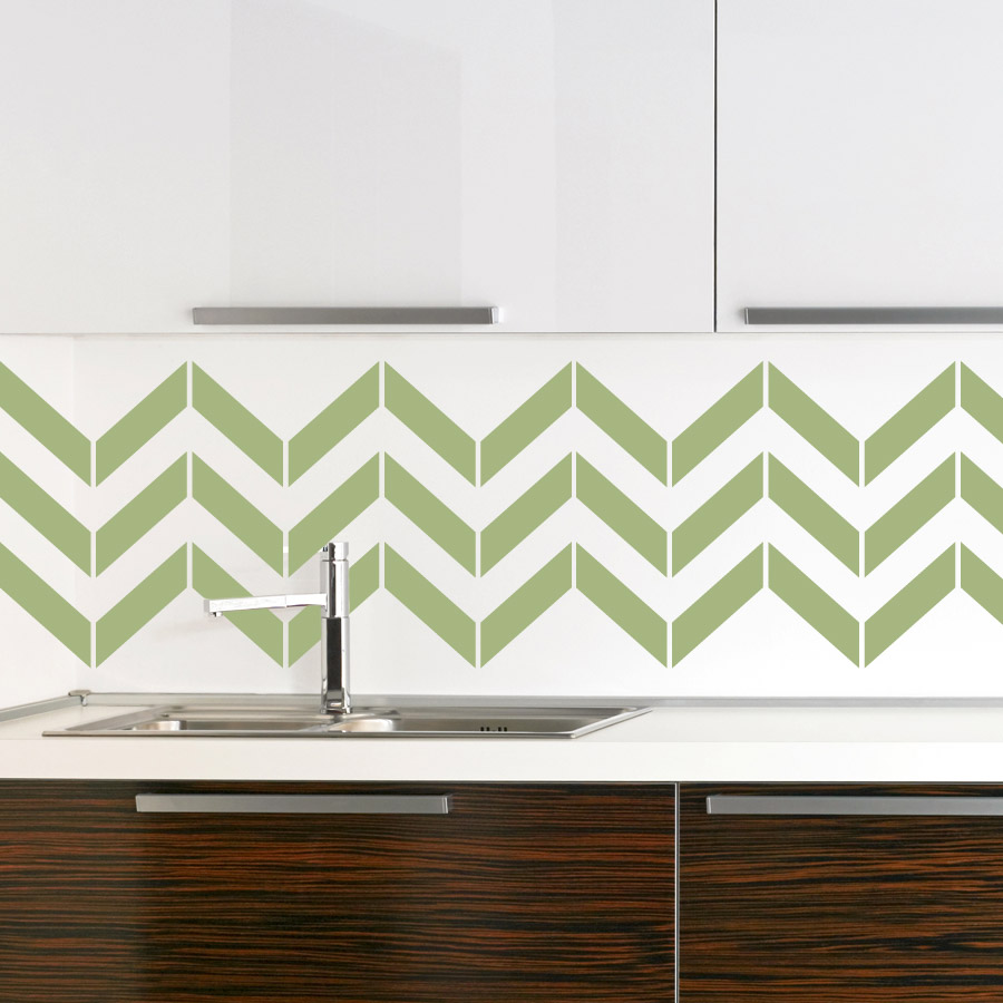 Wallpaper for kitchen backsplash homesfeed for Kitchen cabinets lowes with how to make decal stickers